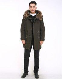 $enCountryForm.capitalKeyWord NZ - Winter Mens Parka Jackets Fashion Otter Rabbit Fur Liner Racoon Hair Hat Thickened Warm Coat Mens Parkas