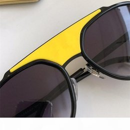 pop rounds NZ - New fashion women 2210 designer sunglasses round retro frame with rope color coated lens avant-garde pop style uv400 lens top quality