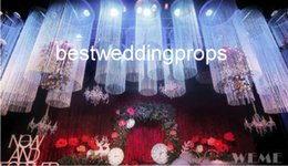 Only Led Australia - use for hangging only )wedding hall column decor banquet stage tall and large pillar wedding walkway leading pillar