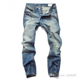 75d86357 Scratch pantS for men online shopping - Fashion Men Jeans Mens Slim Casual  Pants Elastic Trousers