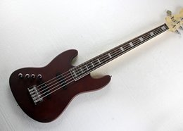 Left Handed Basses Australia - Free Shipping Left Handed Electric Bass Guitar with 5 Strings,Rosewood Fingerboard,Chrome Hardwares,Offer Customized