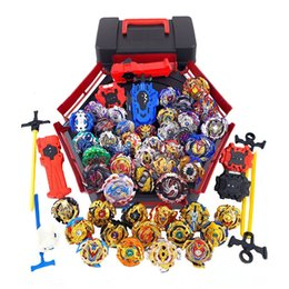 Wholesale All Models Beyblade Burst Toys With Starter and Arena Bayblade Metal Fusion God Spinning Top Bey Blade Blades Toys T191019