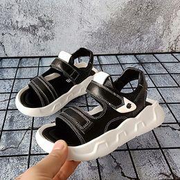 $enCountryForm.capitalKeyWord NZ - kid sandals 2019 Korean boys soft sole Casual Flats designer sandals Children non-slip girls casual beach shoes Comfortable