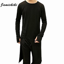 $enCountryForm.capitalKeyWord Australia - 2016 Jamickiki Brand Clothing Cotton T -Shirt Mens Long Sleeve With Finger Hole Long Length Men T Shirts Novelty Teetop S -Xxl H09