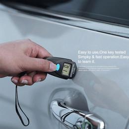 Venta al por mayor de Nuevo mini automóvil Espesor calibra del LCD Digital Medidor de espesor de pintura de coches de espesor de revestimiento Tester Medidor Medir herramientas