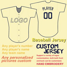 Discount cool jersey names - 2019 Custom Baseball Jerseys Men Women Kids Personal Any Team Name Number 100% Stitching Flex Base Cool Base Style