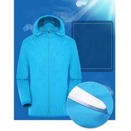 $enCountryForm.capitalKeyWord UK - Unisex Sun Protection Ventilation Hiking Air Conditioning Coat Adjustable Jacket Three Gear With Cooling Fan Zipper Waterproof
