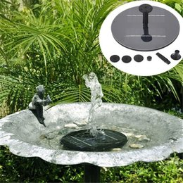 New solar Water Pump Power Panel Kit Fountain Pool Garden Pond Submersible Watering Display with English Manaul on Sale