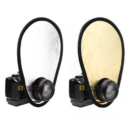 Photo reflectors online shopping - Selens cm in Gold Silver in1 Light Collapsible Portable Photo Reflector Fotografia Photography