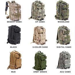 Escursionismo Borsa da campeggio Tactical Trekking Zaino Outdoor Sport Camouflage Bag Zaino tattico Spedizione gratuita pacchetto spazio Tassa pacchetto in Offerta