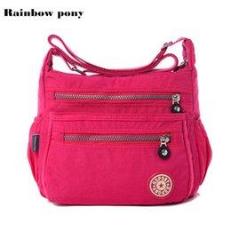 ad97db0a72 RAINBOW PONY Women Messenger Bag Nylon Women Bags Shoulder Crossbody Bags  Fashion Ladies Handbags School Bags Sac A Main AC001 Y1892608