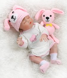 doll paintings Australia - New 48CM bebe doll reborn newborn doll twin baby boy and girl hand detailed painting pinky look full body silicone