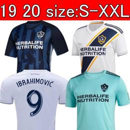 780b4a9cc NEW 19 20 IBRAHIMOVIC LA Galaxy jersey soccer Thailand Los Angeles Galaxy  GIOVANI COLE ALESSANDRINI CORONA football kit top shirts 2019 2020