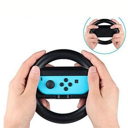 games race Australia - A pair Racing Game Steering Wheel Stand for Switch controller Helm Game Wheels bracket for Switch joystick gamepad