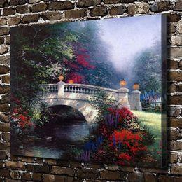 $enCountryForm.capitalKeyWord Australia - The Broadwater Bridge,Home Decor HD Printed Modern Art Painting on Canvas (Unframed Framed)