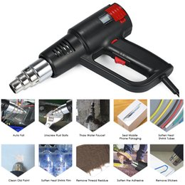 handheld guns Australia - 2000W Industrial Fast Heating Hot Air Gun LCD Digital Temperature-controlled Quality Handheld Heat Blower Electric Adjustable