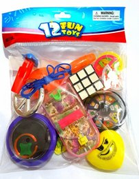 $enCountryForm.capitalKeyWord Australia - 12 PCS Fun Toys Unisex MIX-C Kid Child Boys Girl Kid Birthday Party Favors PINATA Bag Filler Loot Gag LUCKY gift PRIZE Novelty