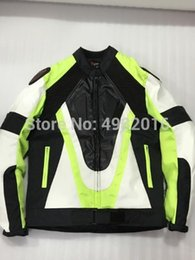$enCountryForm.capitalKeyWord Australia - Two colors Motorcycle Jacket Oxford cloth 600D PU leather Racing jacket cycling with Back Cowl and Protectors