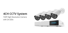 Wireless cameras for home security online shopping - Electronics H VIEW CH P Video Surveillance Kit Camera Video Surveillance Outdoor CCTV Camera Security System Kit CCTV System for Home