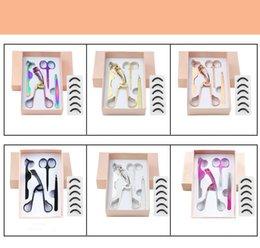 Handle novo profissional da onda Eye Lash curvex Maquiagem Cosméticos cílios Curling Lashes Maquiagem Ferramentas conjunto de 4 peças em Promoção