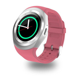$enCountryForm.capitalKeyWord Australia - Y1 Smart Watch Relogio Android SmartWatch Phone Call GSM Sim Remote Camera Information Display Sports Pedometer