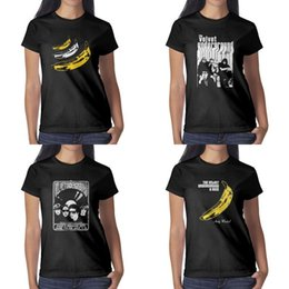 $enCountryForm.capitalKeyWord Australia - The Velvet Underground Andy Warhol black womens t shirt printing vintage make a shirts friends classic Band Art cut files banana clipart
