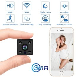 $enCountryForm.capitalKeyWord NZ - Mini WiFi Camera 1080P Security Camcorder Hunting Cam Night Vision Motion Recorder TFcard Slot Phone APP View with Battery