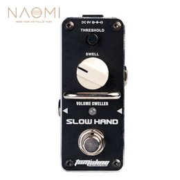 guitar multi effect 2019 - NAOMI Aroma ASH-3 Guitar Effect Pedal Volume Sweller Pedal Threhold Violin-like Tone Mini Analogue Pedal True bypass dis