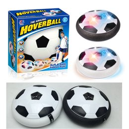 made toys china 2019 - New coming Air Power Soccer Ball Colorful Disc Indoor Football Toy Multi-surface Hovering and Gliding Toy made in china