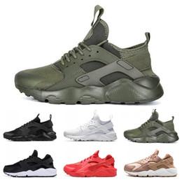 e05a809428570 2019 Huarache Ultra 4.0 Hurache Running Shoes air sole Triple White Black Huraches  Sports Huaraches Sneakers Harache Mens Womens Trainers