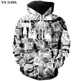 d83fcb99e Yx Girl Plus Size New Anime Boku No My Hero Academia Cosplay Sweatshirt 3d  Print Hoodie sweatshirt Unisex Good Quality Tops C19040302