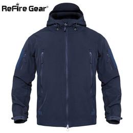 $enCountryForm.capitalKeyWord Australia - Refire Gear Waterproof Army Tactical Jacket Men Camouflage Military Jacket Softshell Windbreaker Winter Hooded Coat Hunt Clothes T2190617