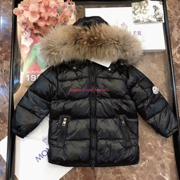 $enCountryForm.capitalKeyWord Canada - Children's down jacket kids designer clothing winter boys and girls fur collar hooded down jacket goose down fill custom style