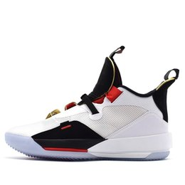 China Jumpman XXXIII 33 Mens Basketball Shoes Best Quality 33S Metallic Gold Black Blackout Trainers Sports Sneakers Size 40-46 cheap jogging shoes best suppliers
