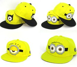 $enCountryForm.capitalKeyWord UK - Minion Hat For Man And Kid Winter And Summer Embroidered Baseball Cap Snapback Hat Birthday Gifts For Kids Christmas Gifts Despicable Me