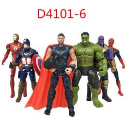 12 Spiderman Figures Australia - Marvel Avengers Infinity War Movie Anime Super Heros Captain Ironman America Spiderman Hulk Thor Superhero Pvc Action Figure #e Q190604