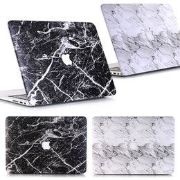 Apple Macbook Wholesale Australia - Marble PU Leather Laptop Case For Apple MacBook Air 13 11 Pro Retina 12 13 15 Touch Bar New Air 13 Case A1932
