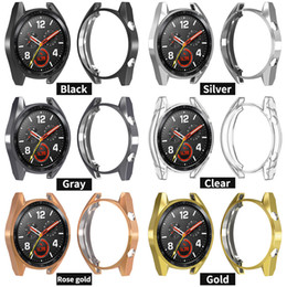 $enCountryForm.capitalKeyWord Australia - Soft Ultra-Slim TPU Protection Silicone Full Case Cover For Huawei Watch GT Protector Replacement Case Strap Smart Watch Accessories