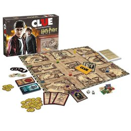 Chinese  Clue Discover Harry Potter Board Games Action Figures Edition Brand Sealed Set Witchcraft Game Collection Cards Kit Fans Toy Gift manufacturers