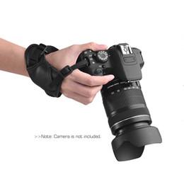 Pentax Cameras Australia - eather Padded Wrist Grip Strap Camera Accessories for Nikon  Canon  Sony  Olympus Pentax  Fujifilm  DSLR Leather Camera Padded Wrist Gri...