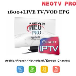 Android Tv Box Neo Australia - Renew NEOTV PRO IPTV Code Support H.265 Live TV VOD Movies channels French Arabic UK Europe Neo Smart TV Android TV Box