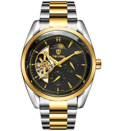 Round Clock Men Australia - Men Watches Top Brand Mechanical Watch Luxury Luminous Automatic Watch Male Clock Business Wrist Watch best gift