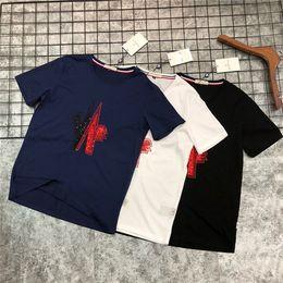 $enCountryForm.capitalKeyWord Australia - 19ss Summer Design luxurious Serial Double Mercerizing m Tee Shirt Men Women Breatheable Fashion Streetwear Sweatshirts Outdoor T-shirts