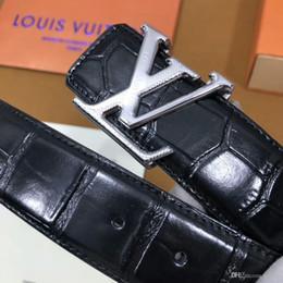 $enCountryForm.capitalKeyWord NZ - 2019 best classic initiales metal buckle brand belt h fashion luxury designer genuine leather damier mens belts for men 3.4cm 01317089200