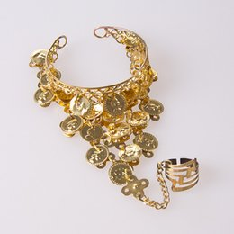 Belly dancing Bracelets online shopping - Belly dance bracelet accessories jewelry ring bracelet hand ring