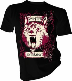 $enCountryForm.capitalKeyWord Australia - Winter Is Coming, Game of Thrones, Direwolf, Stark Adult & Kids T-Shirt