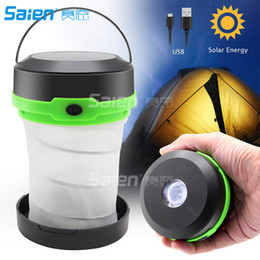 $enCountryForm.capitalKeyWord Australia - Solar Powered LED Camping Lantern,Collapsible Design Solar or USB Chargeable Emergency Power Bank,Emergency LED Lights for Camping Hiking