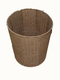 $enCountryForm.capitalKeyWord UK - Wicker Weaving Storage Basket Fruit Dish Rattan Storage Box For Cosmetics Tea Picnic Basket Food Bread Organizer Handiwork
