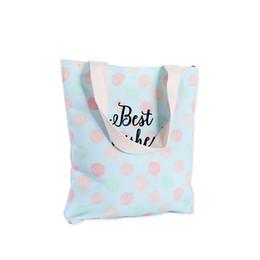 $enCountryForm.capitalKeyWord Australia - 2019 Canvas Bags Shopping Eco Reusable Foldable Shoulder Bag Handbag Tote Bag Casual Shoulder Bags School Travel Women Folding