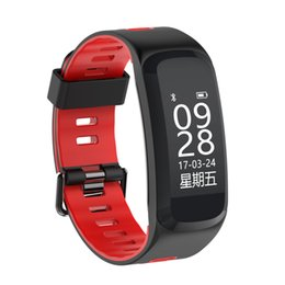 Smart Watch Heart Rate Ip68 Australia - New F4 Dynamic Heart Rate Blood oxygen Monitoring IP68 Waterproof Bluetooth 4.0 Smart Watch 0.96inch OLED Display for Android and iPhone